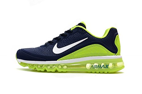 1025b15dbdb MAX AIR Airmax 2018 KPU Blue   Green (41)  Buy Online at Low Prices ...