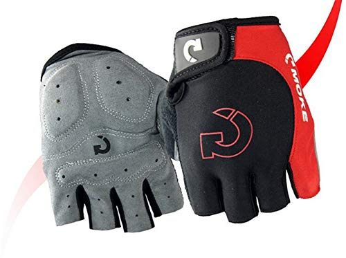 Hiklese Cool Unisex Cycling Gloves Sports Half Finger Anti Slip Gel Pad MTB Road Bike Gloves M-XL 3 Colors Bicycle Gloves