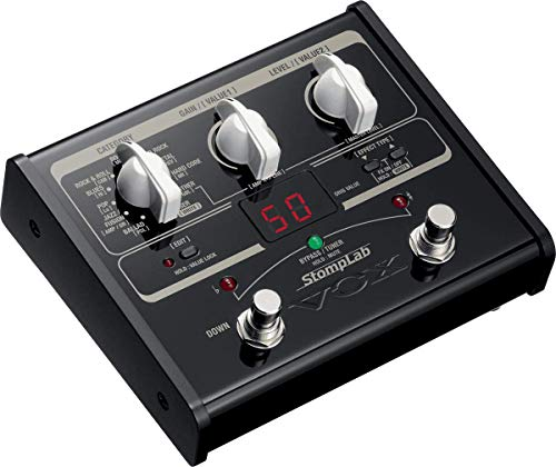 VOX StompLab 1G Guitar Multi Effects Modeling Pedal 2