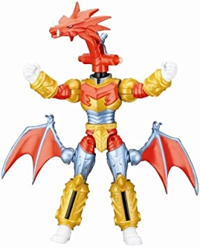 Amazon Com Battlized Red Dragon Fire Ranger Power Rangers Mystic Force Toys Games Trini tore apart lord drakkon's dimension traveling zord, the black dragon, and now wears its skin as armor. battlized red dragon fire ranger power rangers mystic force