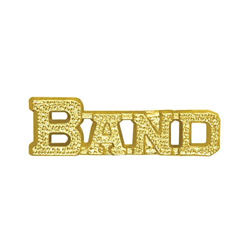 Express Medals Gold Band Chenille Lapel Pin (1-Pack)