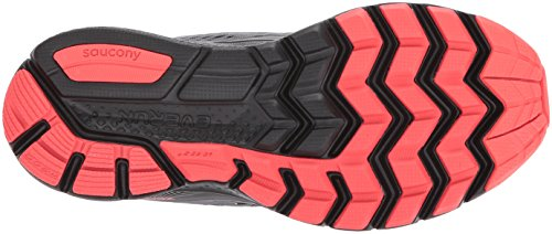 Saucony Zealot Shoes Grey Iso Coral 3 Running Women's RT6wrq8R
