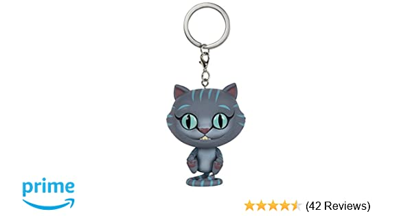 Funko POP Keychain: Alice: Through The Looking Glass Chessur Action Figure
