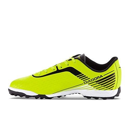 Diadora - Zapatillas de Material Sintético para hombre Giallo Fluo / Nero