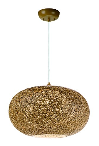- Maxim 14404NAWT Bali 1-Light Chandelier, Finish, Glass, MB Incandescent Incandescent Bulb , 60W Max., Dry Safety Rating, Standard Dimmable, Steel Mesh Shade Material, Rated Lumens