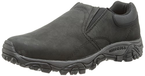 Merrell Men's Moab Rover Moc Black  Slip-On Shoe - 12 D(M) US by Merrell