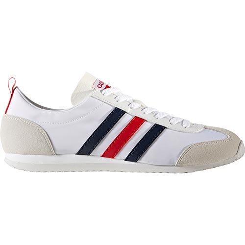 adidas - Zapatillas de Lona para hombre blanco Weiß