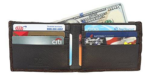 Slim Genuine Alligator Bi Alligator Wallet Genuine fold xxpq7FBw