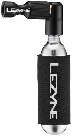 Lezyne CONTROL DRIVE CO2 Inflator Schrader//Presta Valve w//16g Cartridge