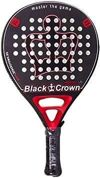 Pala De Padel Black Crown Mortal