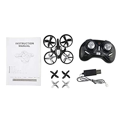 HoganeyVan H36 Mini RC Drone Quadcopter Modo sin Cabeza Una tecla ...