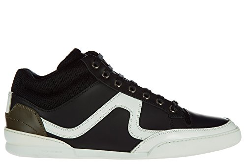 Dior Men's Shoes Leather Trainers Sneakers Black US Size 6 - Dior Mens Shoes