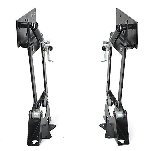 Kingso 2pcs Folding Lift Up Top Table Mechanism Hardware
