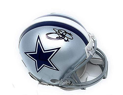 - Emmitt Smith Dallas Cowboys Signed Autograph Mini Helmet Steiner Sports Certified