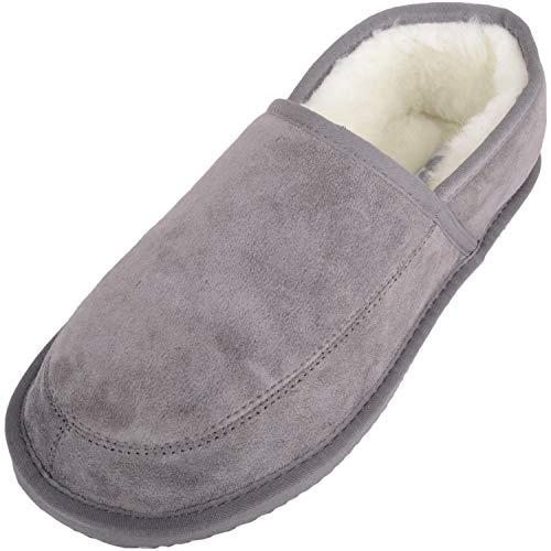 Pantofole Uomo grey Grey Grigio Charlie Snugrugs wgfOc
