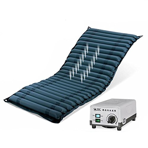 Wei-d QDC-500 Anti-escarres PVC compresseur d'Air Soulage les douleurs dorsales Anti-escarres Coussin d'air Bed 200*86*7.5CM , as picture