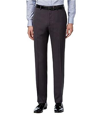 Calvin Klein Mens Slim Fit Dress Slacks