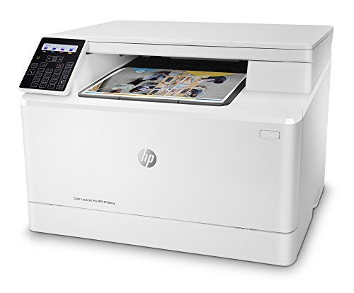 (HP Color Laserjet Pro M180nw All in One Wireless Color Laser Printer with Mobile Printing & Built-in Ethernet (T6B74A) )