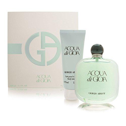 (Giorgio Armani Acqua Di Gioia 2 Piece Fragrance Set for Women)