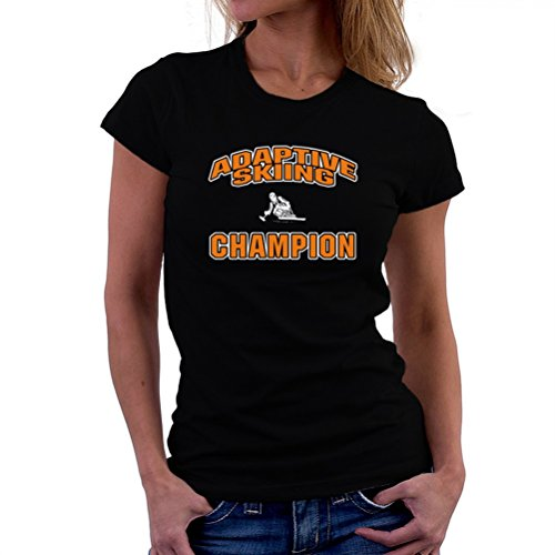 Adaptive Skiing champion T-Shirt