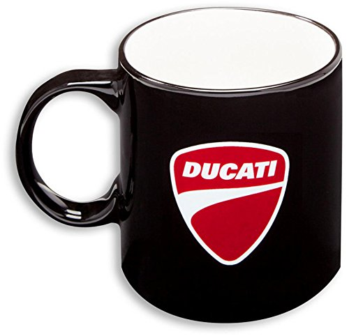 Being Drinkware Mug - Ducati Company Logo Coffee Tea Ceramic Mug Black 987694008