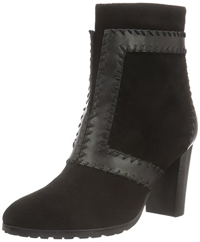 Giudecca W16JY033, Botas Cortas de Tacón Mujer Negro (Black)