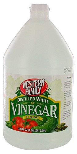 Parowax 24486-3 Distilled Vinegar, 1 gallon