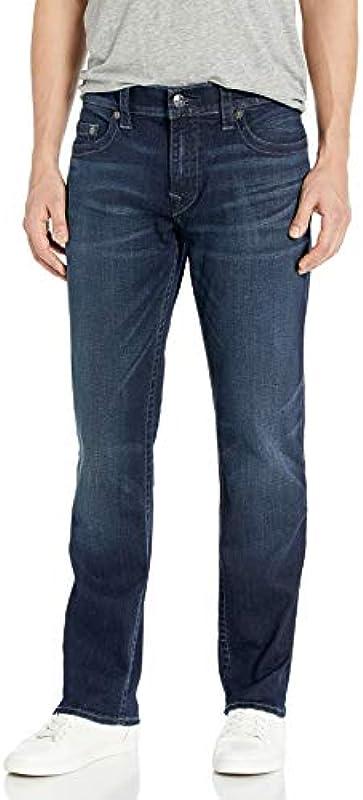True Religion Męskie Geno Slim Fit Jeans: Odzież