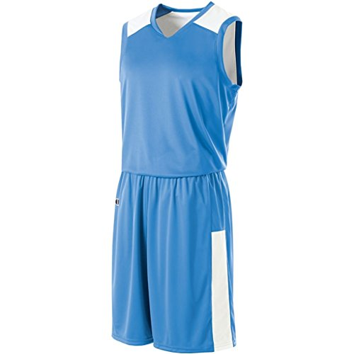 Holloway Ladies Reversible Nuclear Jersey (Small, University Blue/White) by Holloway