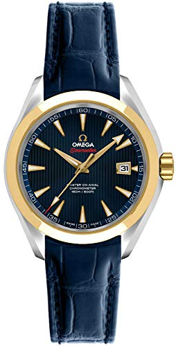 Wrist Omega Watch Automatic (Omega Seamaster Aqua Terra London Olympic Limited Edition Watch)