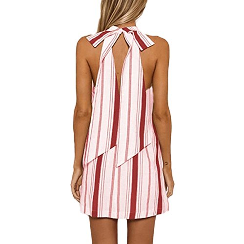 Robe Robe Nu Mtydudxe paule Ray Femme Mode Red Femme D't Dos Dnudes Vintage fw5Zxv5q