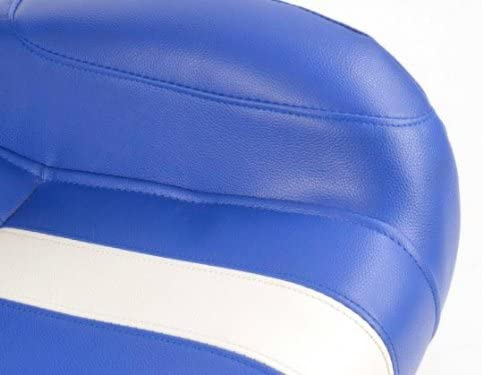 Sportsitz Set Indianapolis Kunstleder blau//wei/ß