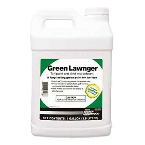 Green Lawnger Turf Paint and Divot Mix Colorant, 1 Gallon by ITS Supply ()