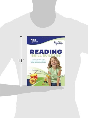 1st Grade Reading Skill Builders: Activities, Exercises, and Tips to Help Catch Up, Keep Up, and Get Ahead (Sylvan Language Arts Workbooks) by Sylvan Learning Publishing