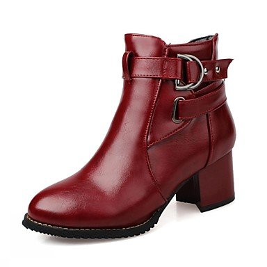RTRY Women'S Boots Spring Fall Winter Platform Comfort Novelty Patent Leather Leatherette Wedding Office &Amp; Career Party &Amp; Evening Dress Casual US7 / EU39 / UK6 Big Kids 2dDgtV9wX