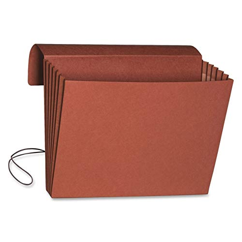 Smead Expanding File Wallet with Flap and Cord Closure, 5-1/4