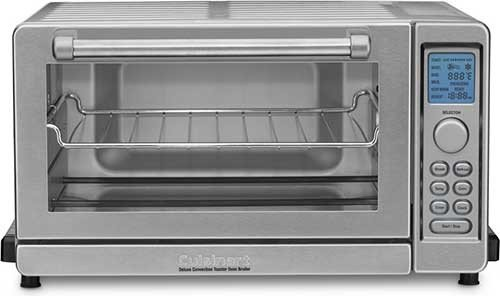 Cuisinart TOB-135 Deluxe Convection Toaster Oven Broiler, Brushed Stainless (Toaster Oven Broiler Tray compare prices)