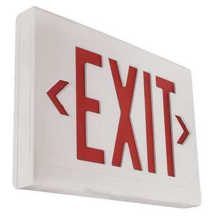 Hubbell LXURWE 120/277VAC Emergency Exit Sign LED (Hubbell Emergency Light)