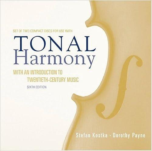 Tonal Harmony Stefan Kostka 9780073327136 Books