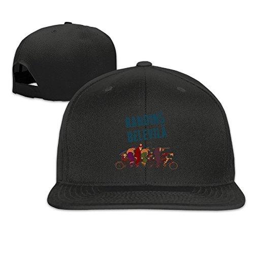 Noir Vintage Hat - The Triplets Of Randin's Belleville Vintage Flat Hat World