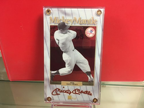 Mickey Mantle Cooperstown Collection - Authentic Images Mickey Mantle Cooperstown Collection #320/536-YANKEES Triple Crown