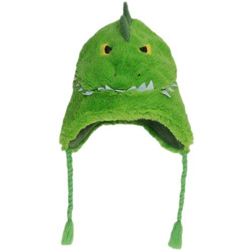 - Hatley Little Boys' Fuzzy Fleece Hats-Alligator, Green, Medium
