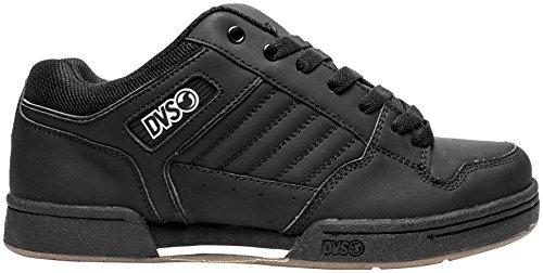 DVS Shoes Durham Nubuck Shoes, Primary Color: Black, Size: 11, Distinct Name: Black, Gender: Mens/Unisex XF-1-87-3386