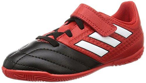 adidas Ace 17.4 In J H&l, Botas de Fútbol para Niños Rojo (Red)