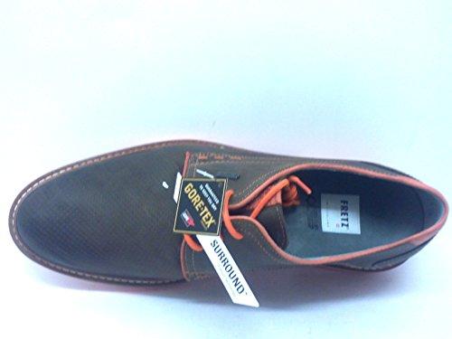 FRETZ men Zapatos derby Locarno Gore-Tex® SurroundTM Moka EU 42 (UK 8)