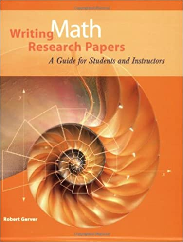 Recent research papers in mathematics
