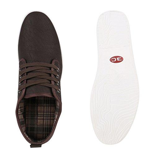 Flandell Low Hellbraun Stiefelparadies Basic Herren Übergrößen Sneaker Hellbraun 7zxTqI8