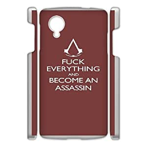 Google Nexus 5 Phone Case White Assassin Creed-5 ZCC599539
