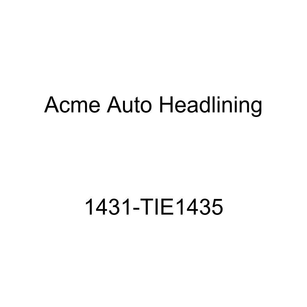 Acme Auto Headlining 1431-TIE1435 Tan Replacement Headliner 1953 Chevy Bel Air /& Pontiac Chieftain Deluxe 4 Door Sedan 8 Bow