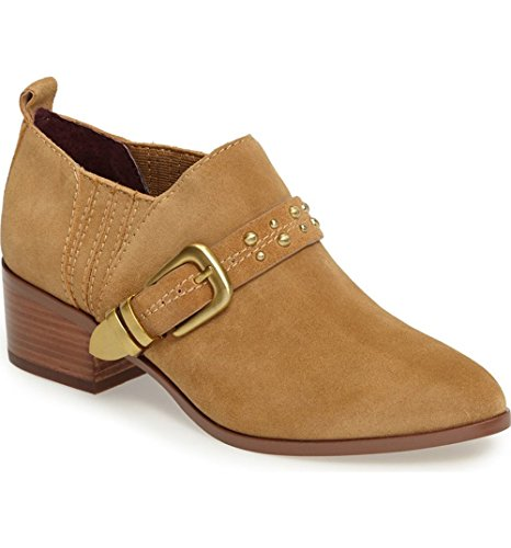 BCBGeneration Loela Leather Bootie Wheat